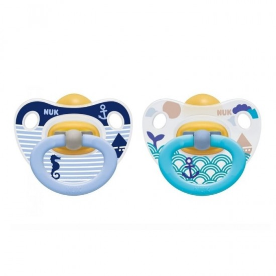Nuk Orthodontic soothers 6-18 m - Mickey