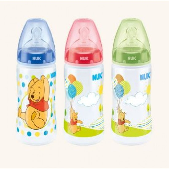 Nuk Premium Choice Winnie the Pooh PP Feeding Bottle - 300 ml (0-6m)