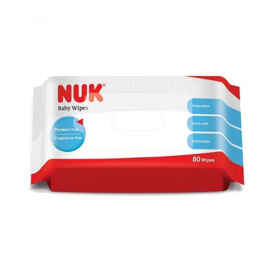 Nuk Baby Wipes - 80 pcs