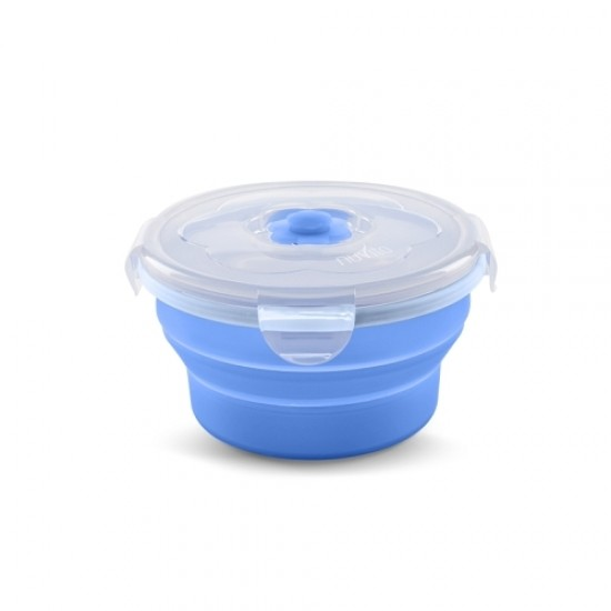 Nuvita Collapsible silicone containers 540 ml - Blue