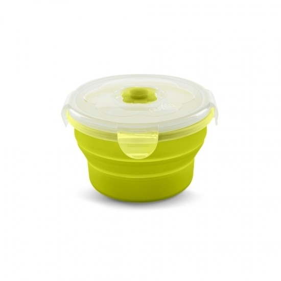 Nuvita Collapsible silicone containers 540 ml - Green
