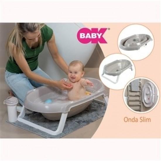 OK Baby ONDA SLIM Bath Tub - Grey