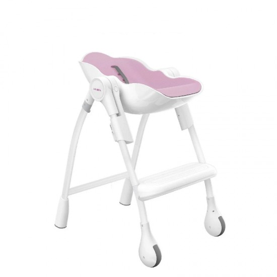 Oribel Cocoon 3-STAGE Highchair - Rose Meringue