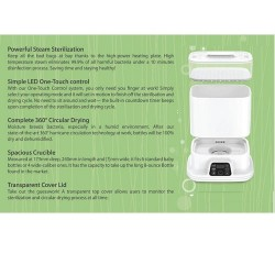 Obnabebo Multi-functional Steam Sterilizer with artifical intelligence drying
