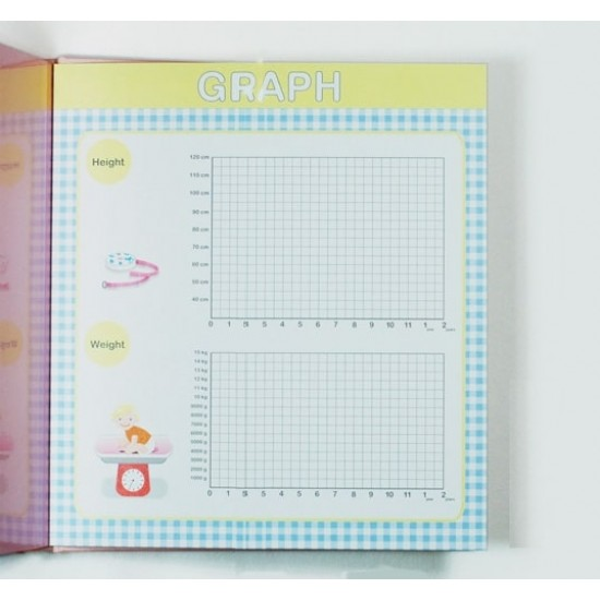 Baby Journal BB Growth Diary Photo Album
