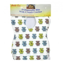 BeBe Care Disposable Bibs - 20 pcs