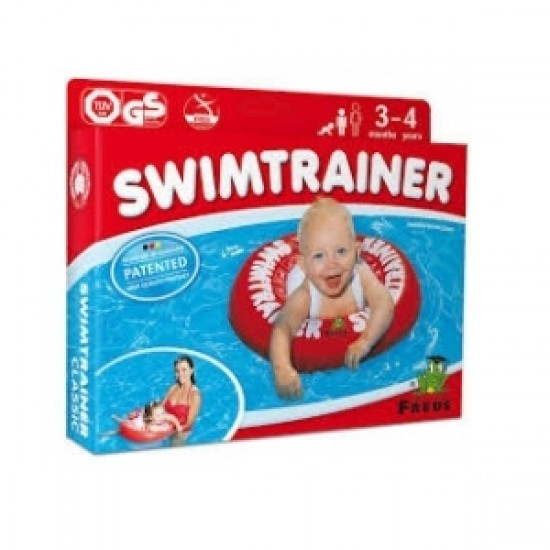 Freds Swimtrainer Classic - Red  (3 months - 4 yrs)
