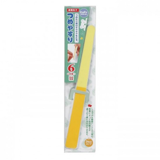 Green Bell Nail File