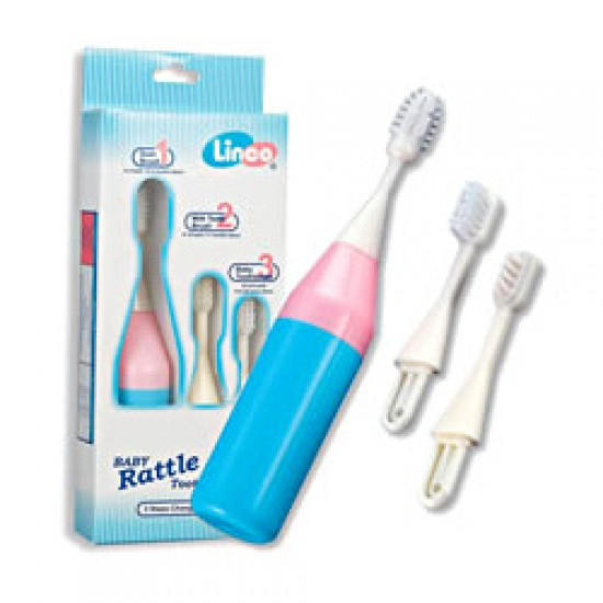 Linco Rattle Baby Toothbrush Set (3 stages)