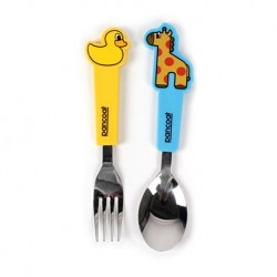 Pancoat Spoon and Fork Set