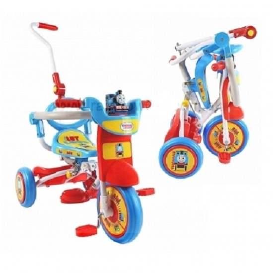 Thomas & Friends Foldable Tricycle with push handle & guard