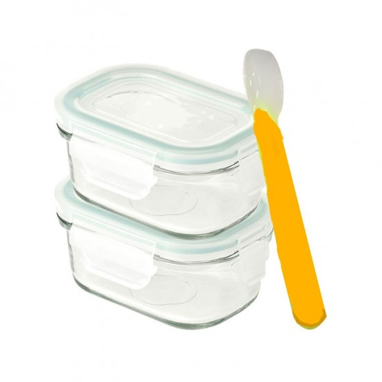 YumYum By Glasslock Baby Meal Set