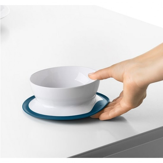 OXO Tot Stick & Stay Suction Bowl - Navy