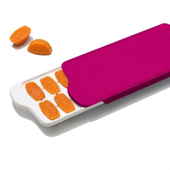 OXO tot Baby Food Freezer Tray - Pink