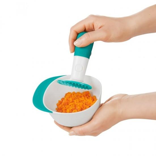 OXO tot Baby Food Masher - Teal