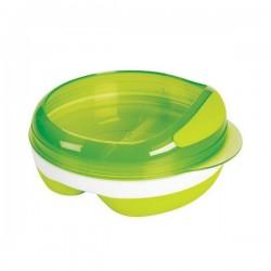 OXO tot Divided Feeding Dish - Green