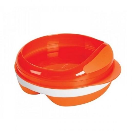 OXO tot Divided Feeding Dish - Orange