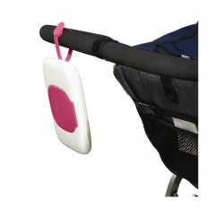 OXO tot On-the-Go Wipes Dispenser - Pink