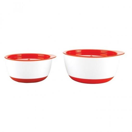 OXO tot Small & Large Bowl Set - Orange