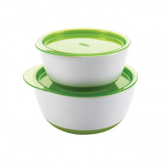 OXO tot Small & Large Bowl Set - Green