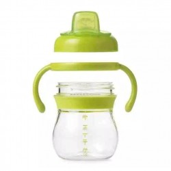 Oxo tot Grow Soft Spout Training Cup - Green