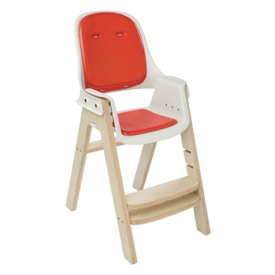 OXO tot Sprout Chair - Orange/Birch