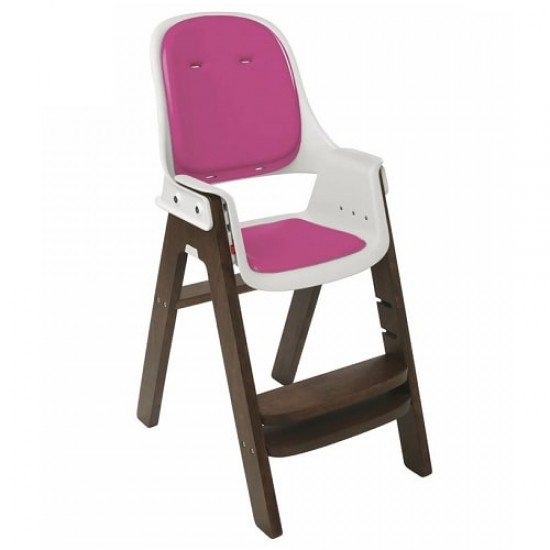 OXO tot Sprout Chair - Pink/Walnut