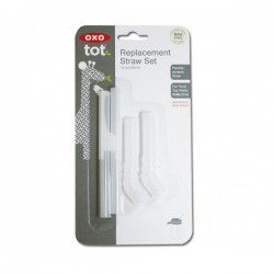 OXO tot Replacement Straw Set (12 oz) -  2 pcs