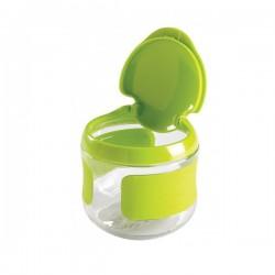 OXO tot Flip-Top Snack Cup - Green