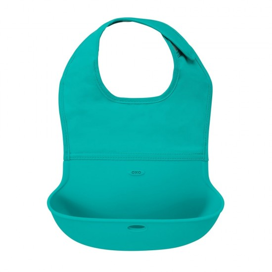 OXO tot Roll Up Bib - Teal