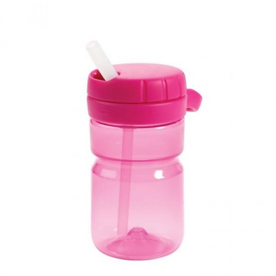 OXO tot Twist Top Water Bottle (350 ml) - Pink