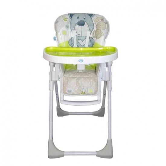 Pali Pappy Light High Chair - Bear / Fluorescent green (340036JOY)