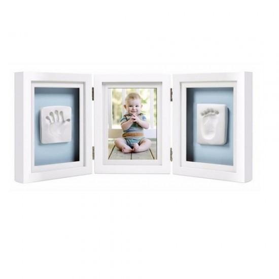Pearhead Deluxe Desk Frame (Triple Frames) - White