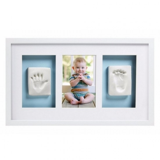 Pearhead Deluxe Wall Frame - White