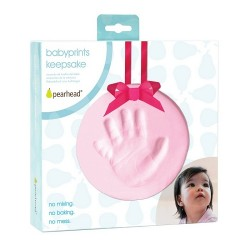 Pearhead Babyprints Hanging Keepsake - Pink