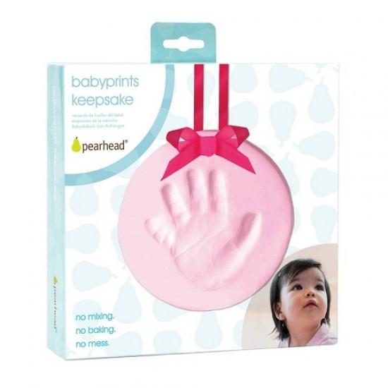 Pearhead Babyprints Hanging Keepsake - Pink