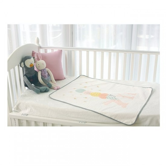 Petit Bird Bamboo Fiber Baby Changing Mat - Ice-Cream