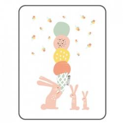 Petit Bird Bamboo Fiber Baby Changing Mat - Ice-Cream