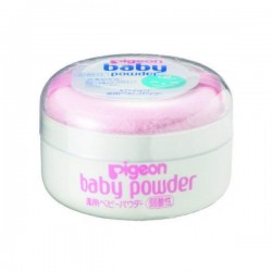 Pigeon baby powder with powder puff