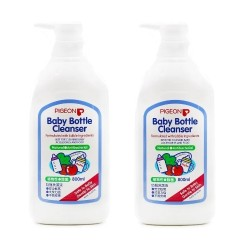 Pigeon Baby Bottle Cleaner - 800 ml x 2