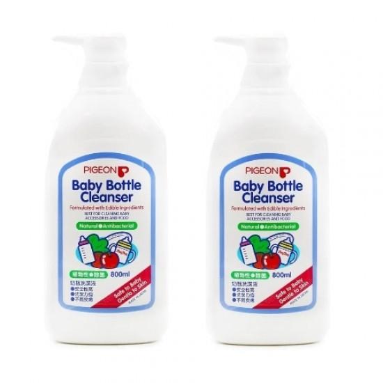 Pigeon Baby Bottle Cleaner - 800 ml x 2
