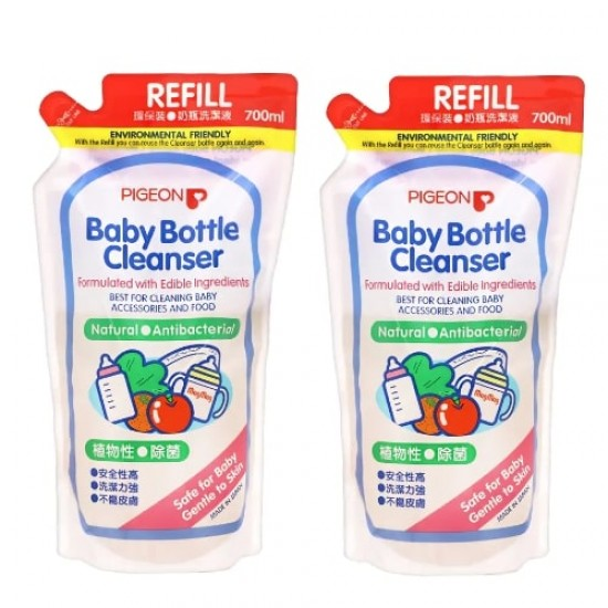 Pigeon Baby Bottle Cleaner Refill - 700 ml x 2