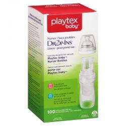 Playtex Drop-Ins Liner - 8-10 oz x 100 pcs