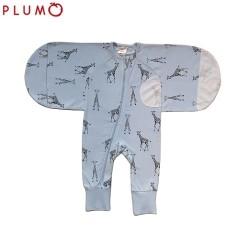 Plum 2.5 Tog Swaddle Suit - Giraffe