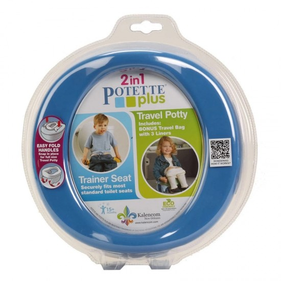 Potette Plus 2-in-1 Foldable Potty