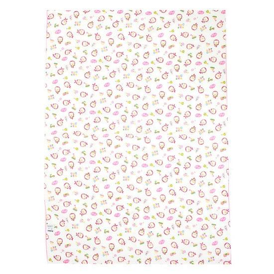 Puku Baby Bath Towel (pink) - 100 x 70 cm
