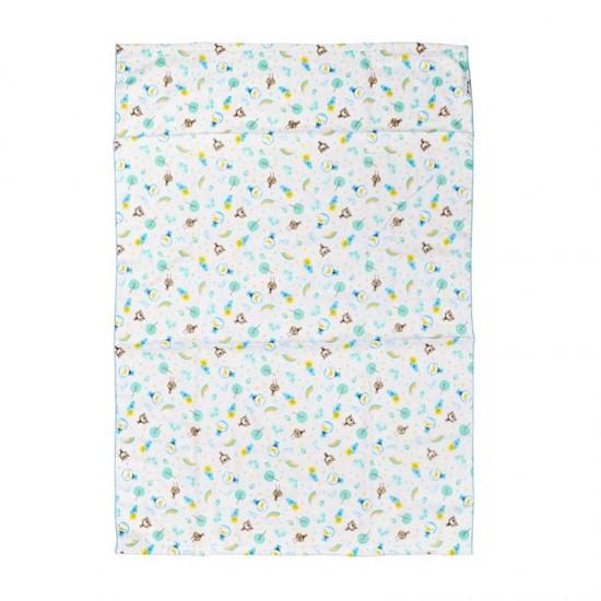Puku Baby Bath Towel (aqua) - 100 x 70 cm