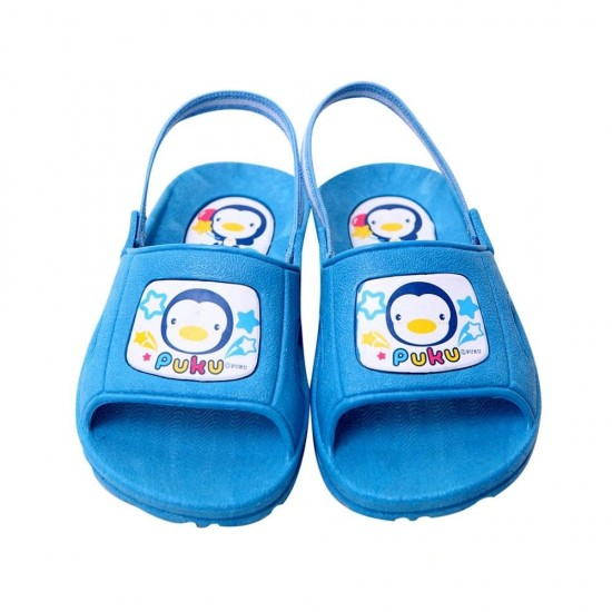 Puku Toddler Slippers - Blue