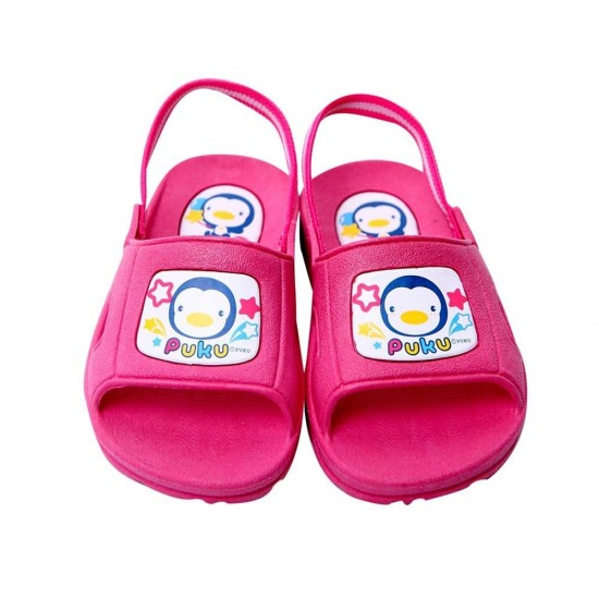Puku Toddler Slippers - Pink