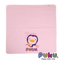 Puku Baby Bath Towel (Pink) - 90 x 90 cm